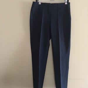 J Jill Essential Cotton-Stretch Pants Sz 8